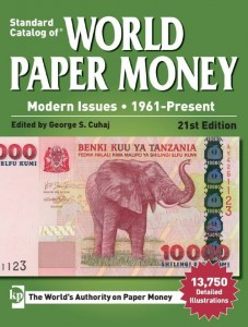 Katalog banknotów World Paper Money 1961-Present 21st Edition