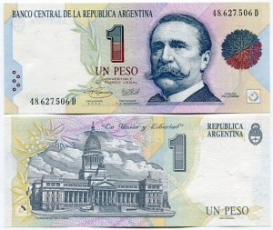 Argentyna 1 Peso 1992 r. UNC